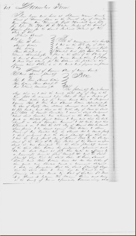 John A. Irwin, Samuel Collins sued by David Mason on 15 Dec 1853_0002