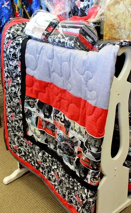 Walking Dead quilt kit
