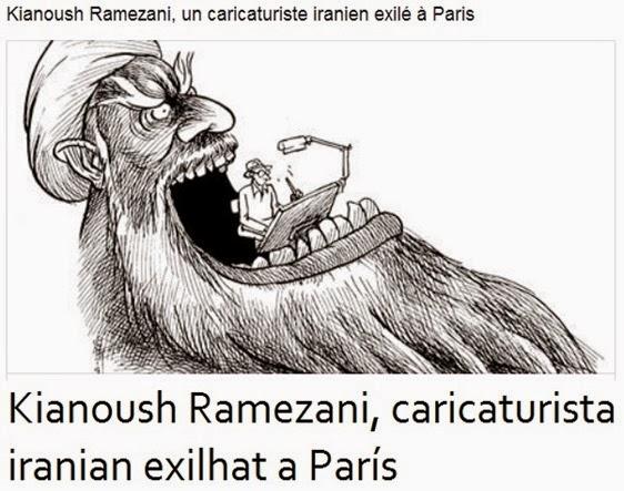 Caricatura iraniana