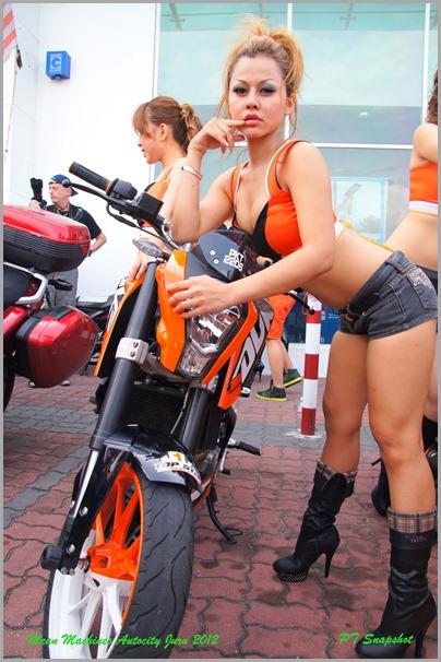 Scramble bike