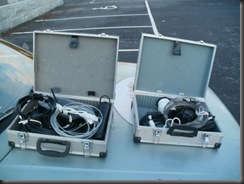 Litt samling av antennemateriell