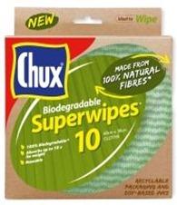 Chux Biodegradable Superwipes