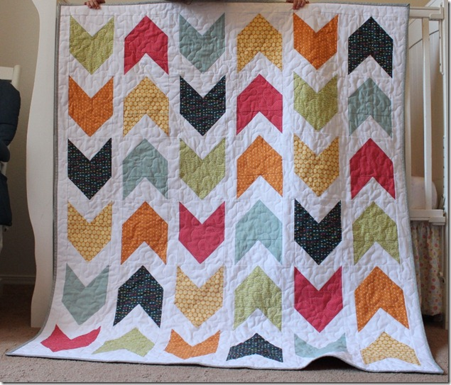 Pow Wow Boy Quilt by the Crafty Cupboard