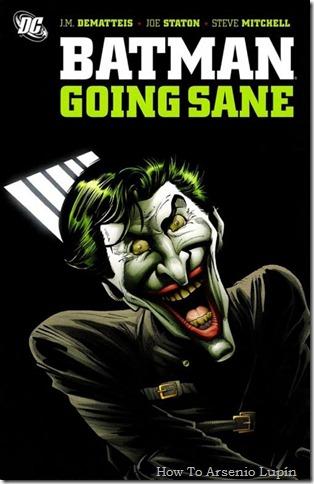 2011-09-29 - Batman - Volverse cuerdo