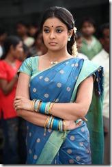 Tanu shree Dutta in blue _Saree_hot