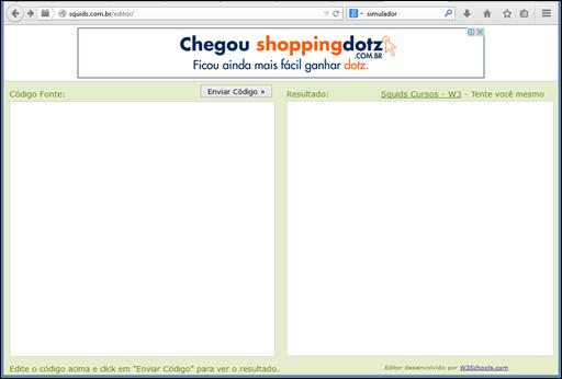 Simulador gratuito para HTML, CSS e JavaScript – visualização em tempo real - Visual Dicas