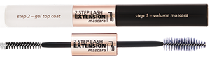 2-step lash extension mascara