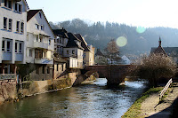 The river in Calw