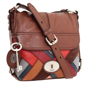 Fossil Maddox Patchwork Flap