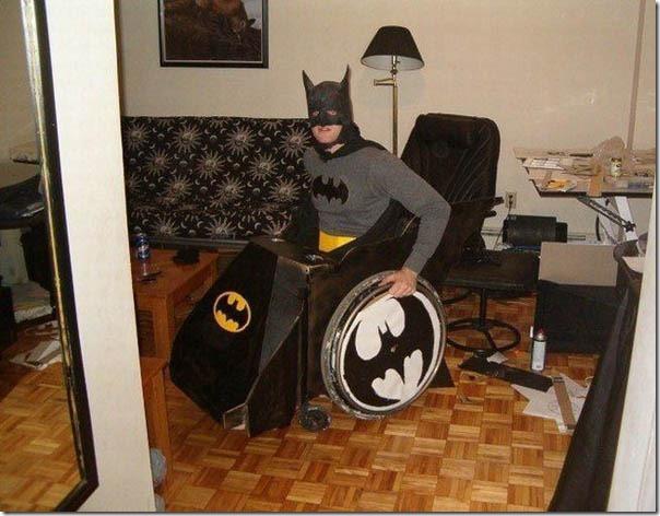 batman-batmobile silla de ruedas