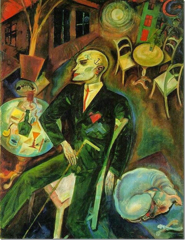 George Grosz - Der liebeskranke Mann (1916)