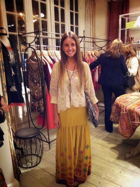 mariana weissman-skirt-yellow-boho style