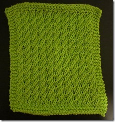 May 2012 Dishcloth KAL