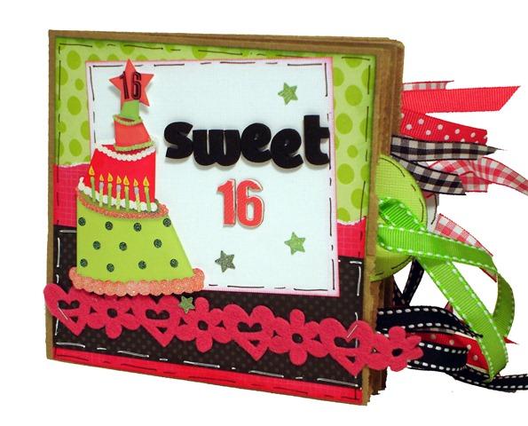 Sweet 16 Scrapbook 1