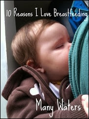 Many Waters 10 Reasons I Love Breastfeeding