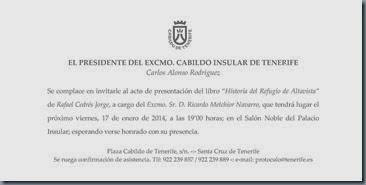 Invitación Libro Refugio