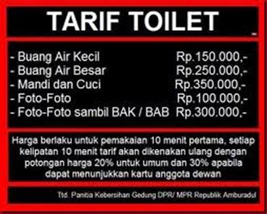 Sekolah Kenakan Tarif Toilet Kepada Murid
