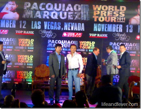pacquiao marquez press conference 2011