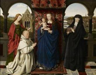 van eyck virgen y niño