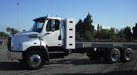 Trucks like Freightliner's new 114SD, the manufacturer's first vehicle to be offered from product launch with CNG option, should get a boost from CARB program