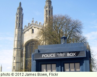 'The TARDIS in Cambridge' photo (c) 2012, James Bowe - license: http://creativecommons.org/licenses/by/2.0/