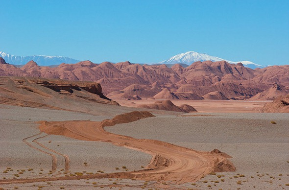 A landscape that appears on Mars in Argentina 01