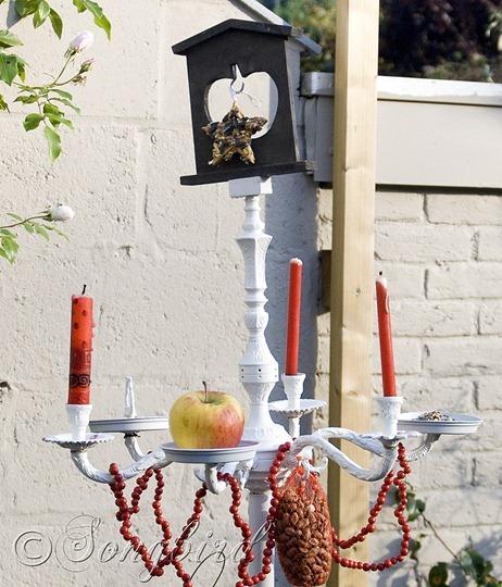 Bird Feed Chandelier 7