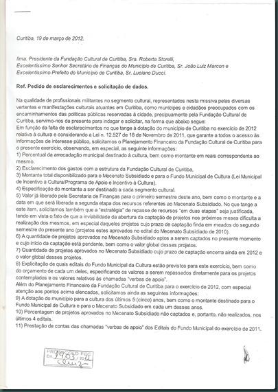 documento protocolado - FCC
