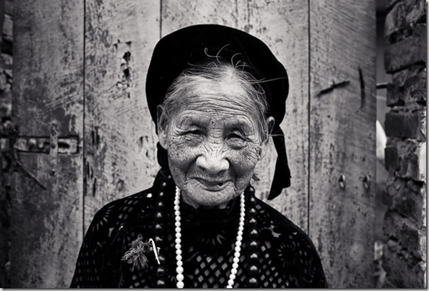 Vietnamese Woman in Hanoi, Vietnam