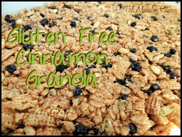 Pumpkin seed Currant Rice Cereal Bars - Granola