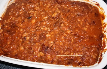 Retired With No Regrets: Pork n Beans Style Baked Beans - Reminiscing ...