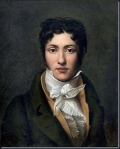 Auguste Vinchon.autoportrait
