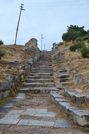 Priene Path into