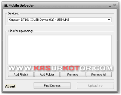 Upload file ke iPhone, iPod dan iPad Menggunakan SL Mobile Uploader