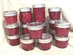 cran raspberry jam