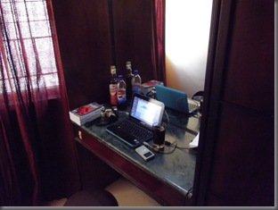 Arbeitsplatz Hotel Mangala Coi