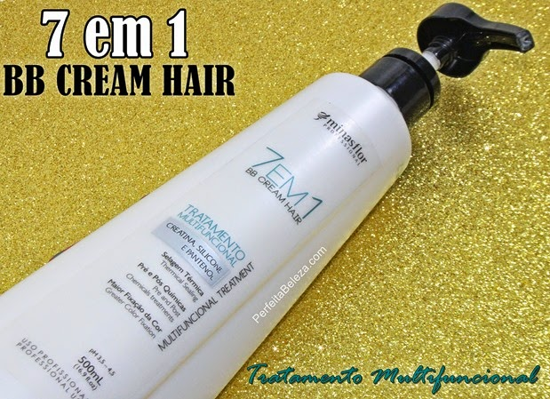 BB CREAM HAIR 7 em 1 Minas flor
