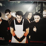 rammstein poster in Toronto, Ontario, Canada