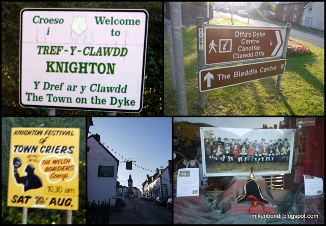 Knighton, the town on the Dyke