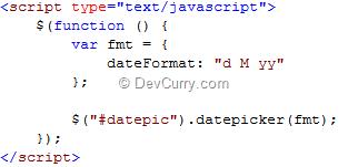 jQuery UI DateFormat