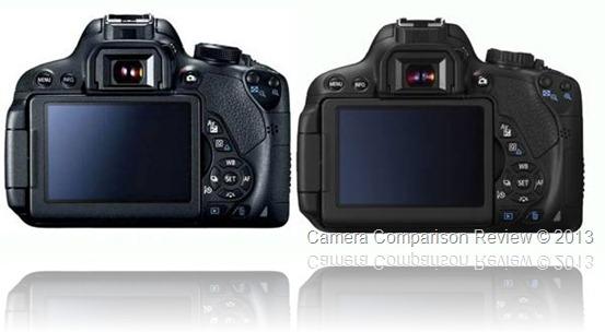 Canon 700D / T5i vs Canon 650D / T4i