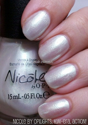 Nicole by OPI Lights, Kim-era, Action!