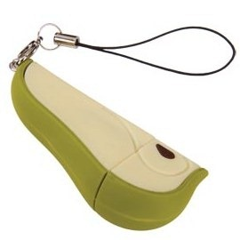 Pear USB flash drive