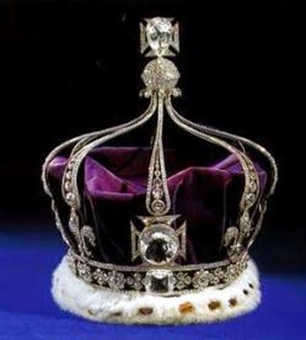 Corona de la reina María de Teck - joyas del Reino Unido