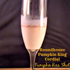 Roundhouse Pumpkin King Cordial Pumpkin Kiss Shot