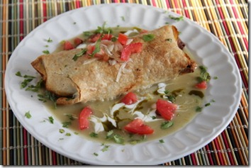 Baked Chicken Chimichangas 1
