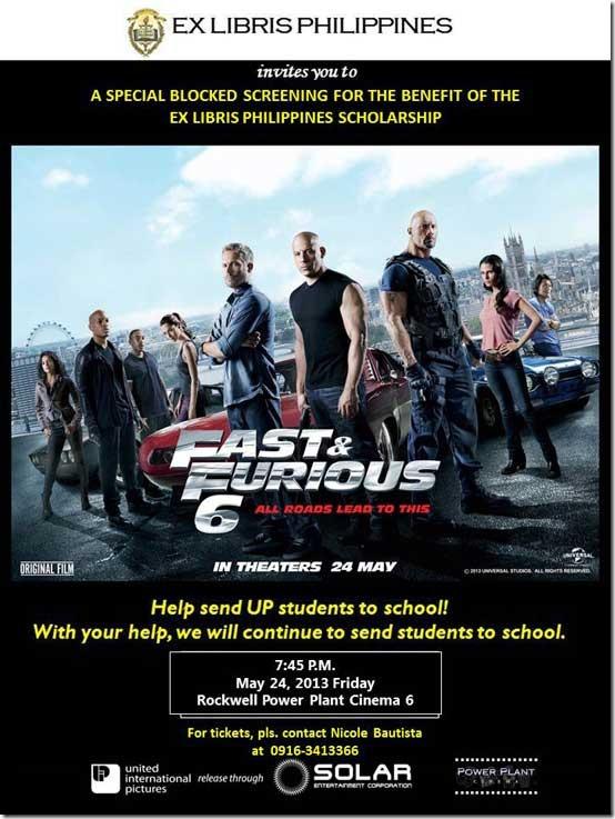 Fast & Furious 6 Manila