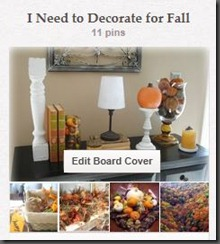 Pinterest Fall decor board