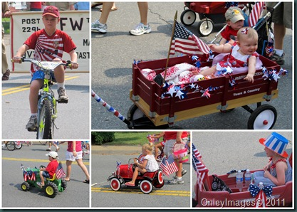 July 4th parade collage2