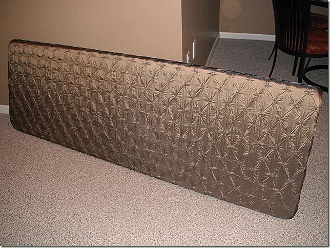 Finished Fabric Headboard
